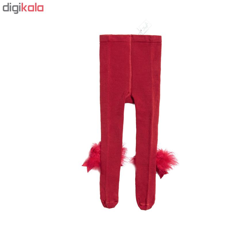 جوراب شلواری نوزادی دخترانه فیورلا کد 2002-6