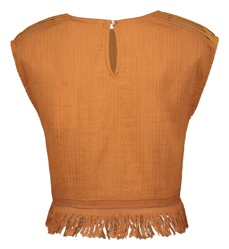 بلوز نخی آستین حلقه ای زنانه Lavinia - پپه جینز