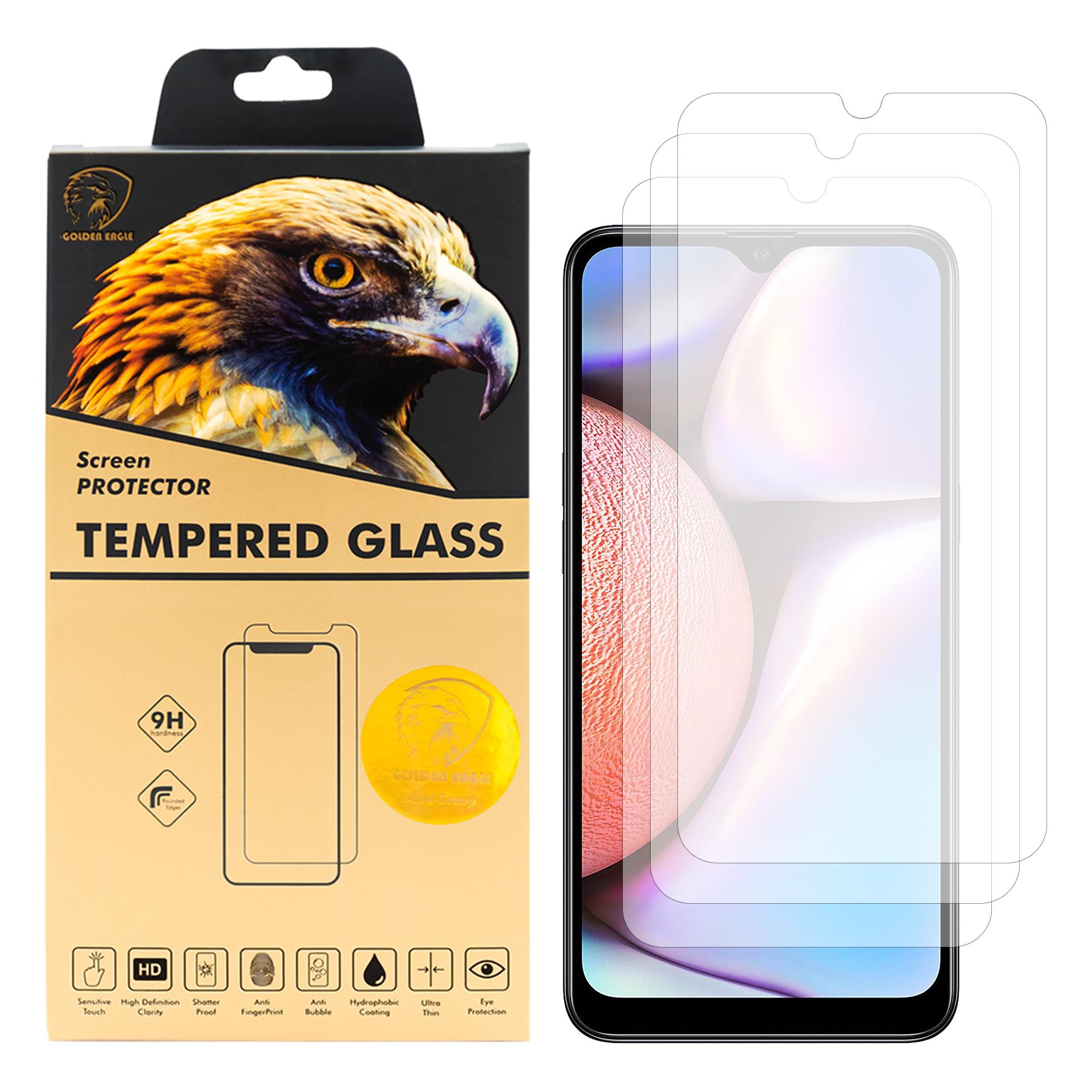 محافظ صفحه نمایش گلدن ایگل مدل GLC-X3 مناسب برای گوشی موبایل سامسونگ Galaxy A10s بسته سه عددی