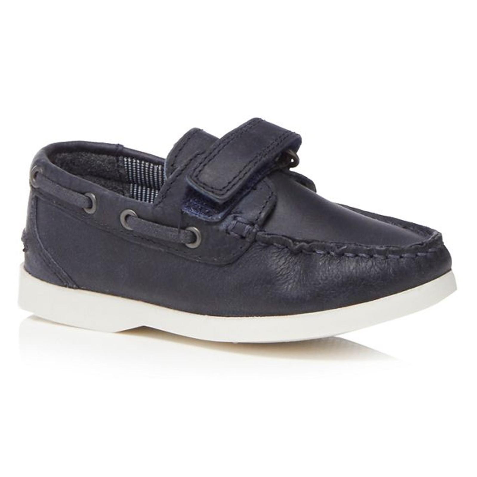 کفش چرم چسبی پسرانه - دبنهامز