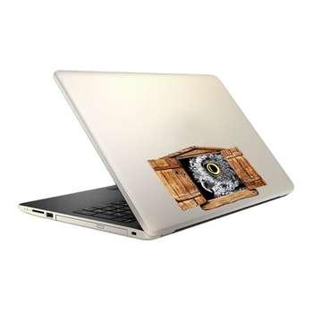 استیکر لپ تاپ فلوریزا طرح جغد و پنجره کد PHA019