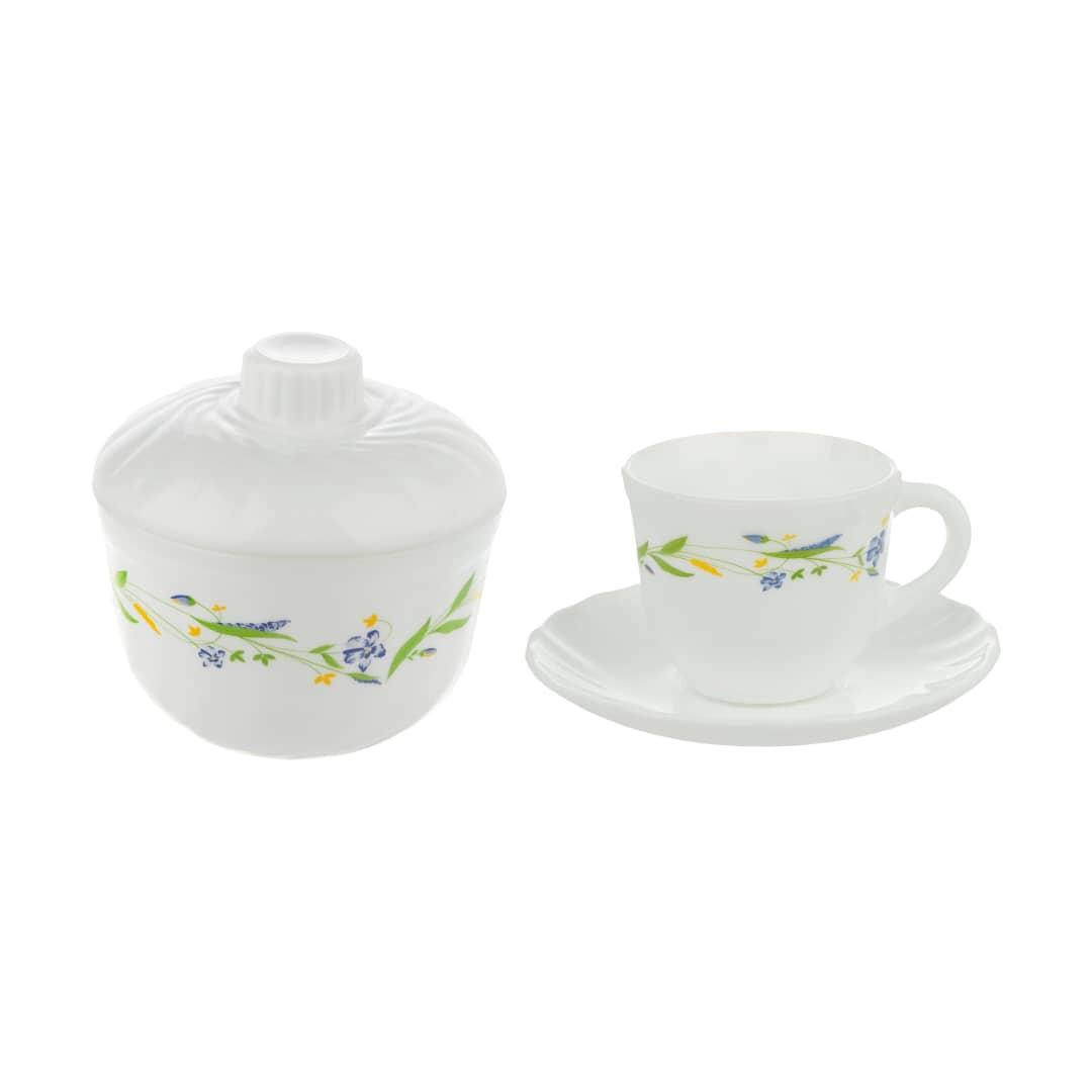 عکس سرویس چای خوری 14 پارچه مدل 205