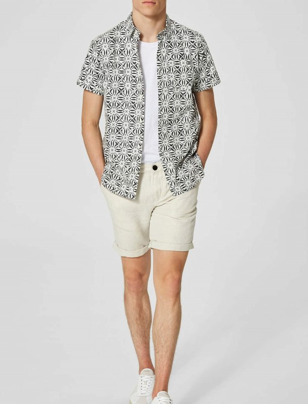 Men Plain Shorts - سلکتد