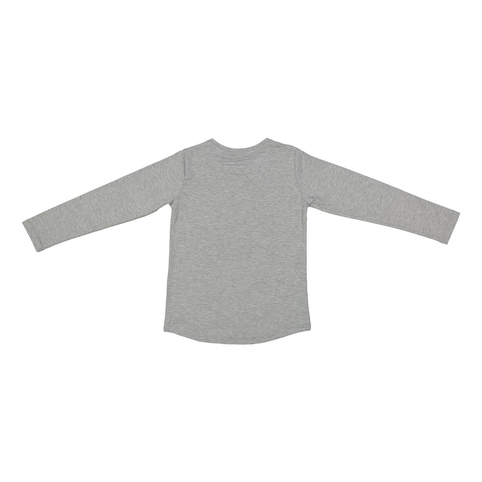 تی شرت و شلوار نخی دخترانه - پیانو - طوسي - 3