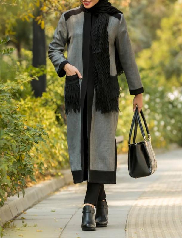 رویه بلند زنانه مدل گندم - سارا حمیدی