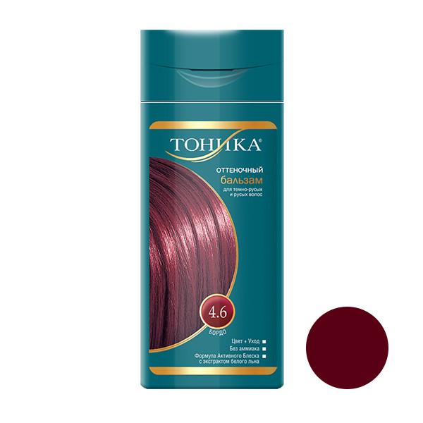 شامپو رنگ مو تونیکا شماره 4.6 حجم 150 میلی لیتر رنگ قرمز کبود
