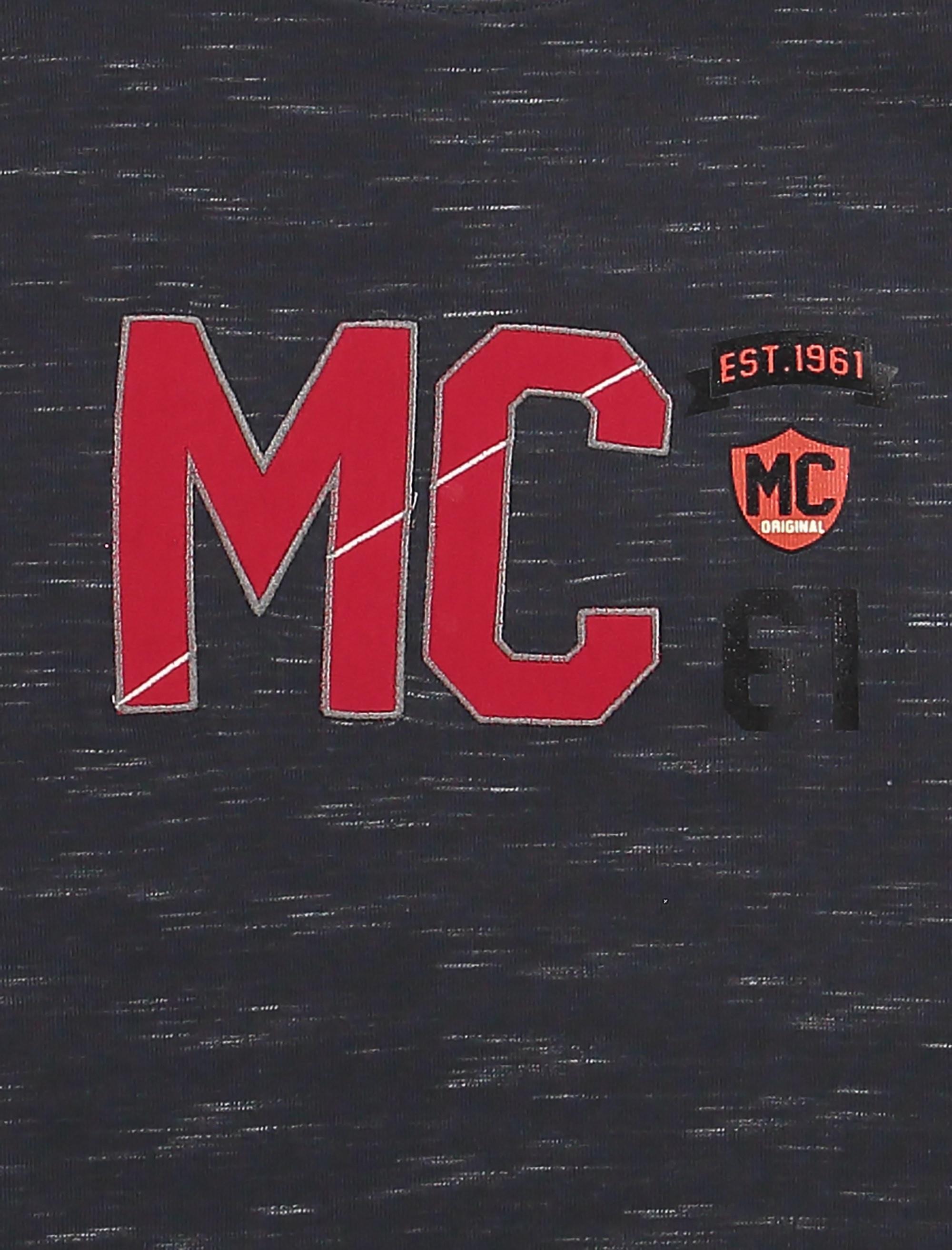 تی شرت نخی آستین بلند پسرانه MC - خرس کوچولو - دودي  - 4