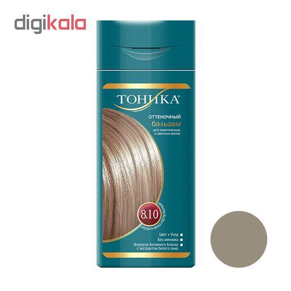 شامپو رنگ مو تونیکا شماره 8.10 حجم 150 میلی لیتر رنگ مرواریدی خاکستری main 1 1