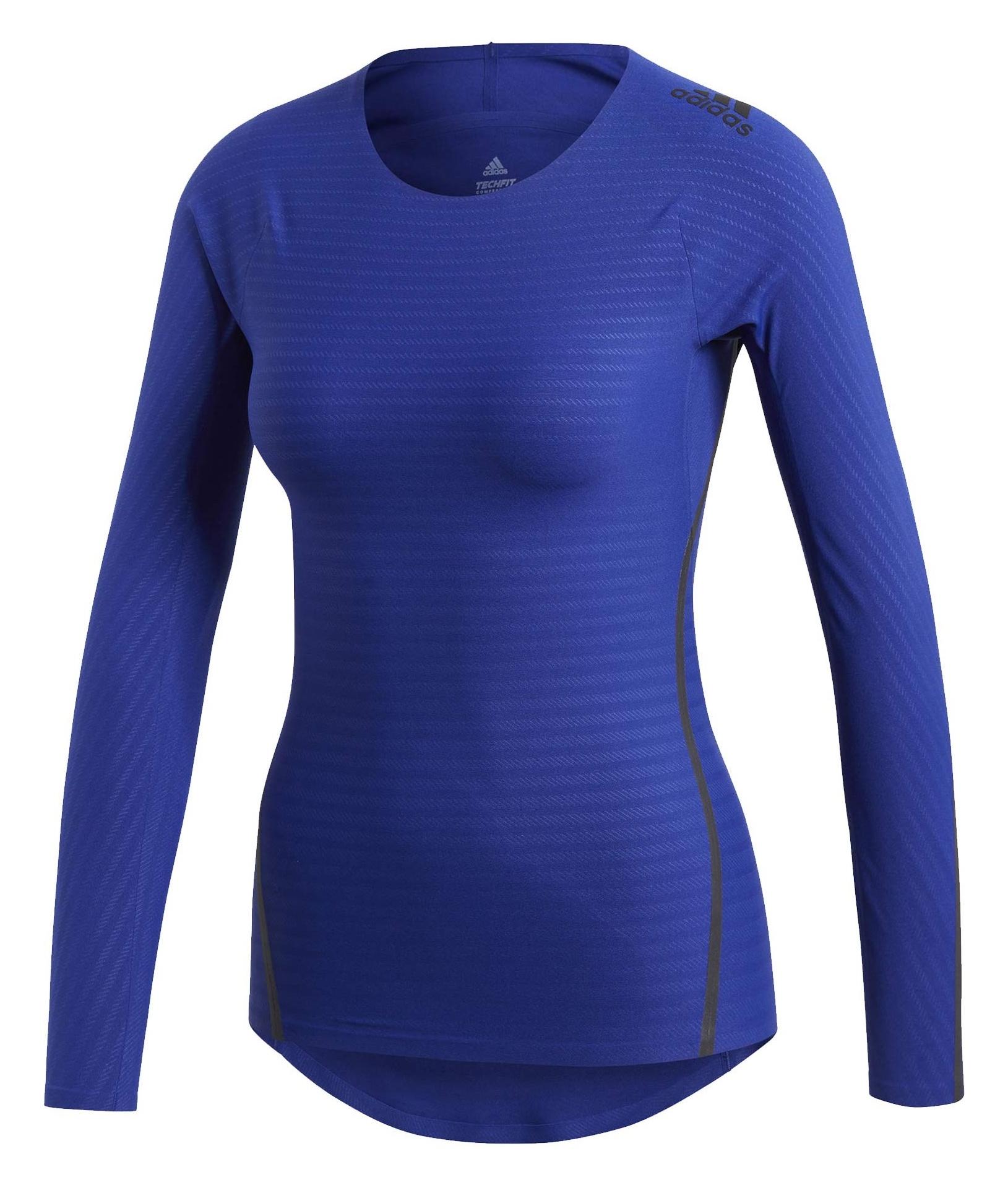 تی شرت ورزشی آستین بلند زنانه Alphaskin 360 - آدیداس