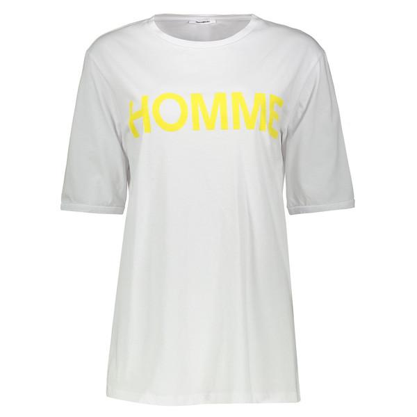 تی شرت نخی یقه گرد مردانه - امپریال