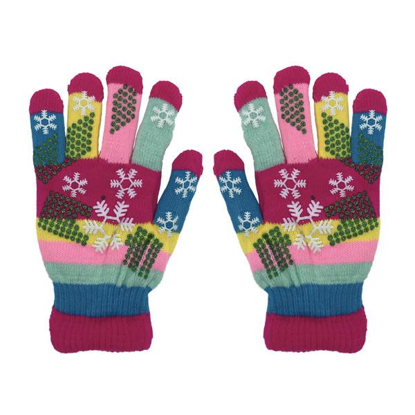 دستکش بافتنی دخترانه کد 933