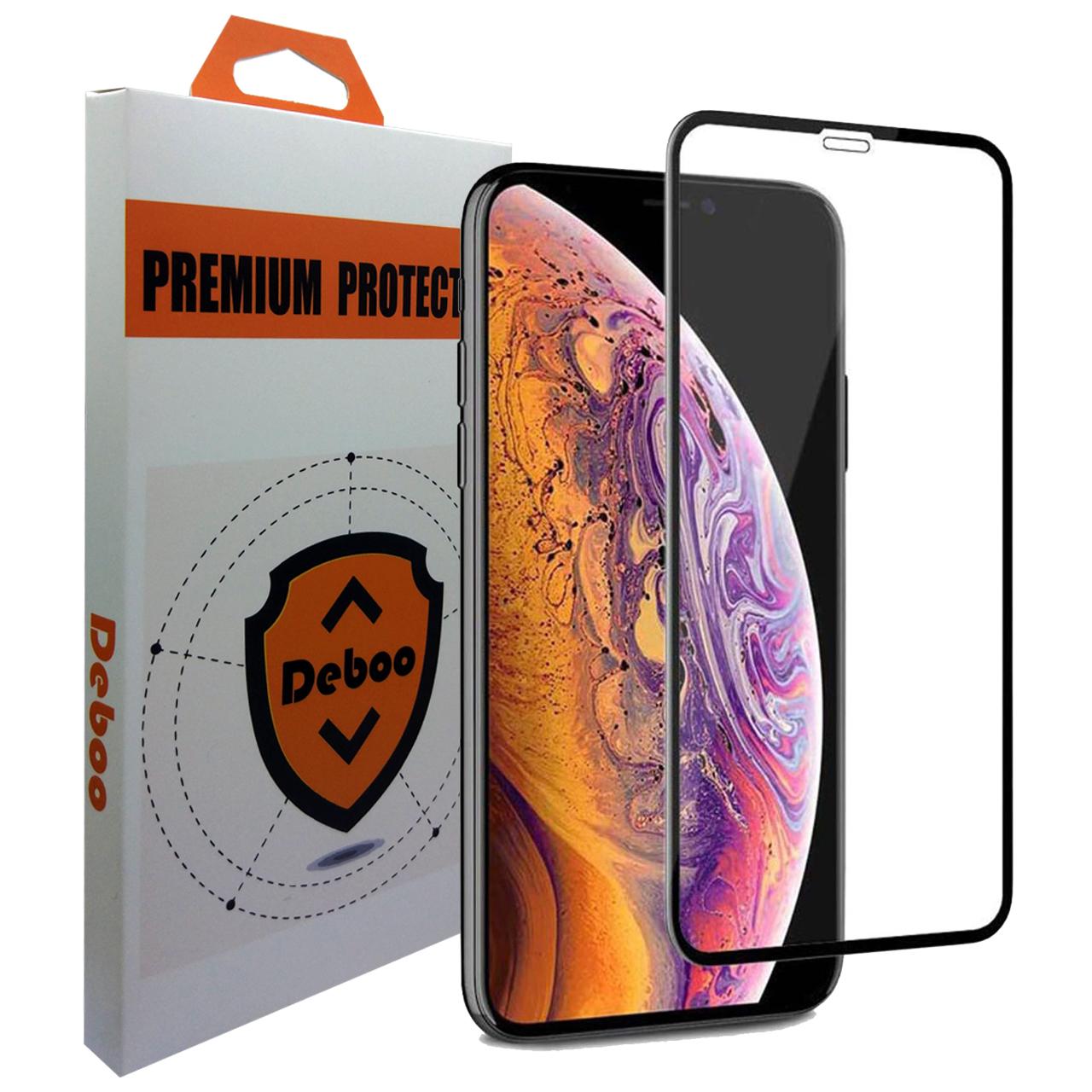 محافظ صفحه نمایش 9D دبو مدل AIM9 مناسب برای گوشی موبایل اپل iPhone XS Max