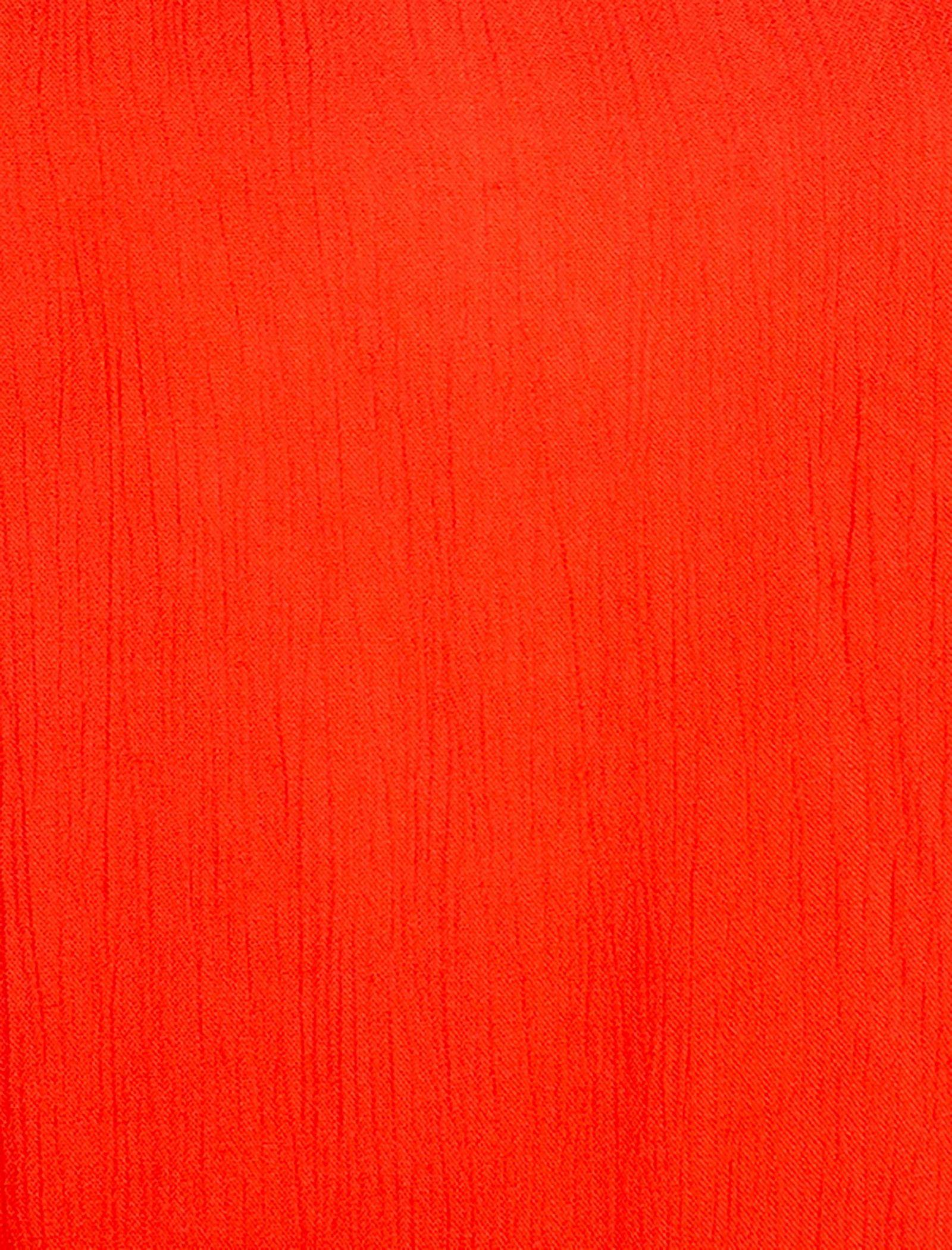 تاپ ویسکوز بندی زنانه - ام بای ام - نارنجي  - 4