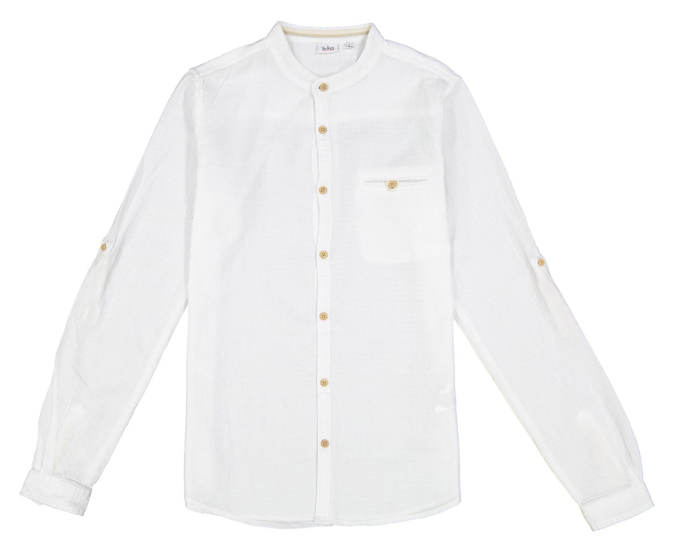 پیراهن نخی آستین بلند پسرانه - بلوکیدز