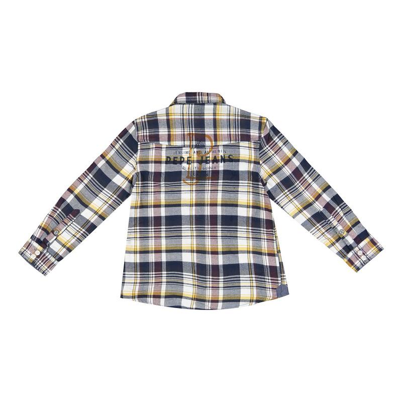 پیراهن نخی آستین بلند پسرانه Marshall JR - پپه جینز