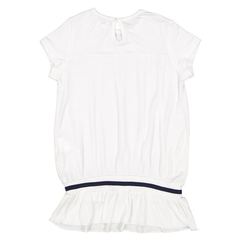 تی شرت ویسکوز یقه گرد دخترانه - ایدکس