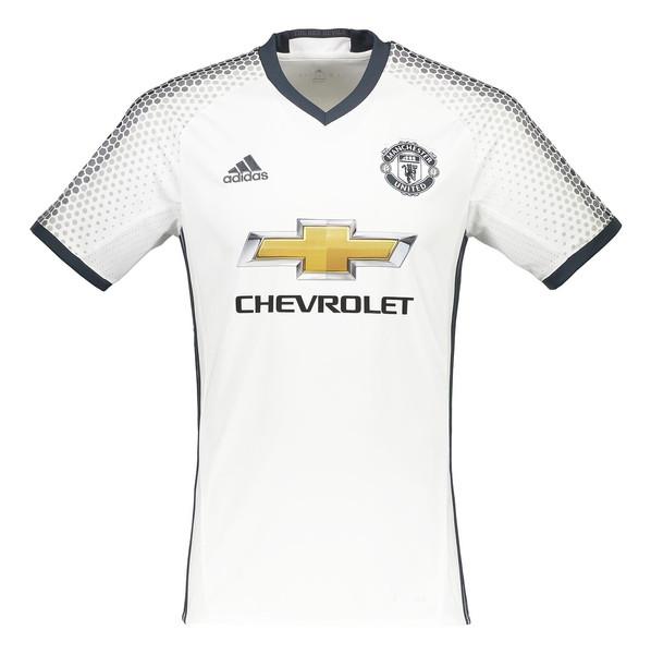 تی شرت ورزشی آستین کوتاه مردانه Manchester United FC Replica Third - آدیداس