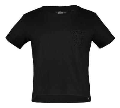 تصویر تی شرت نخی آستین کوتاه زنانه – سوپردرای