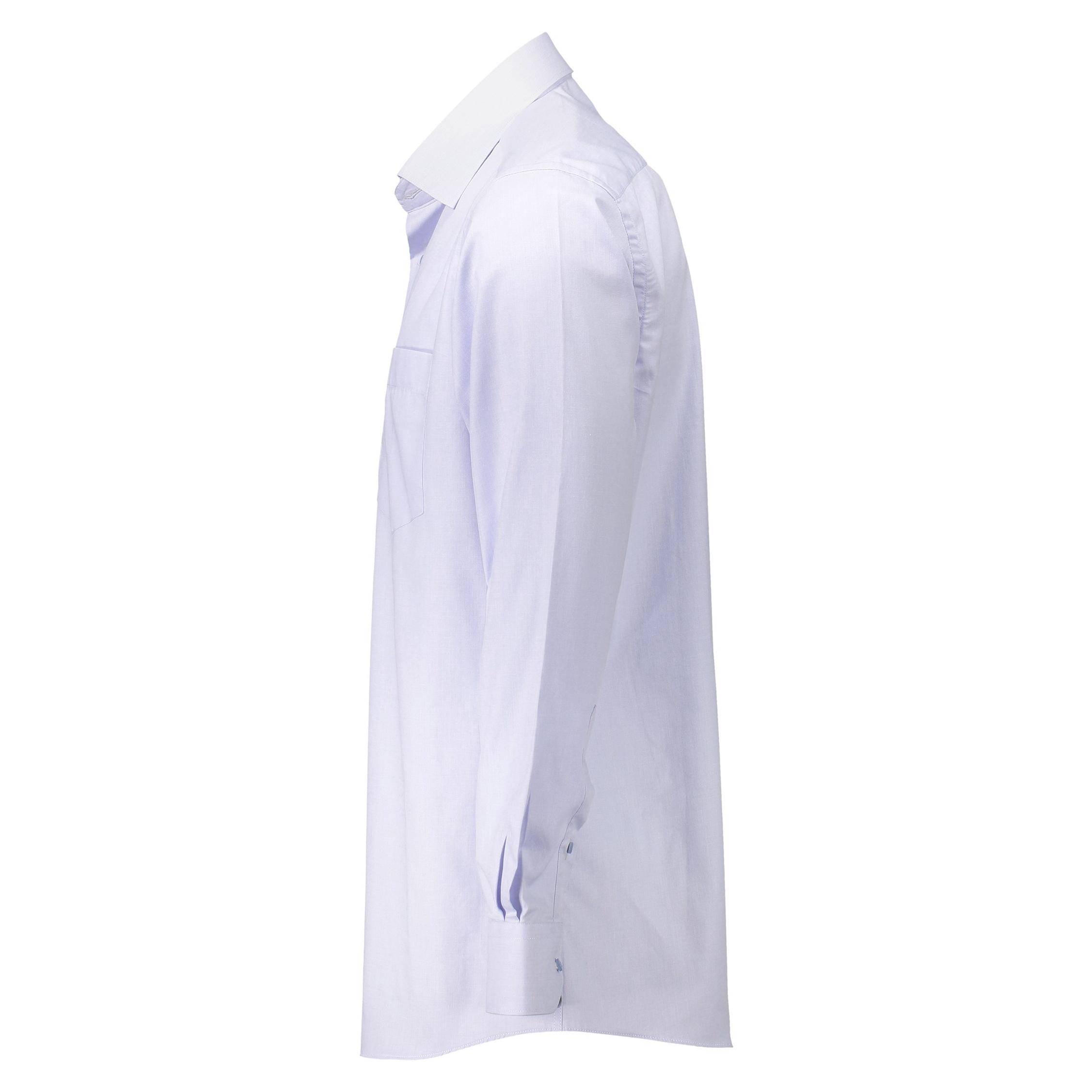 پیراهن آستین بلند مردانه - خانه مد راد - آبي روشن - 3