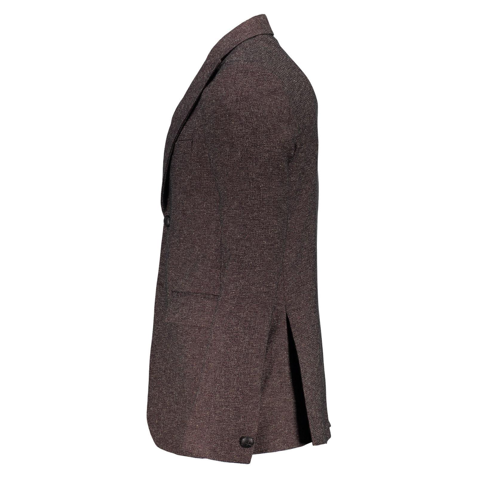 کت تک غیر رسمی مردانه - خانه مد راد - بنفش - 3