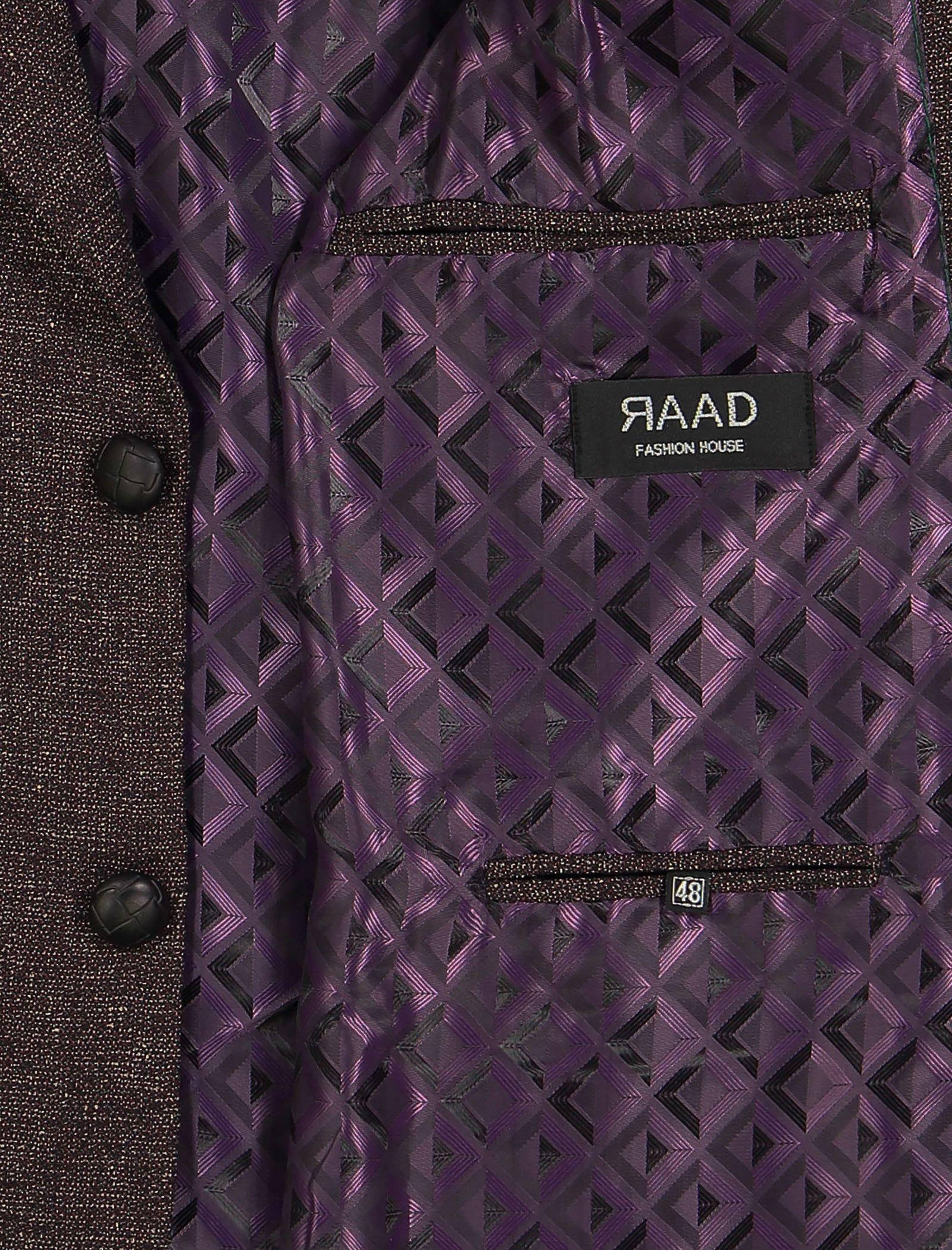 کت تک غیر رسمی مردانه - خانه مد راد - بنفش - 4
