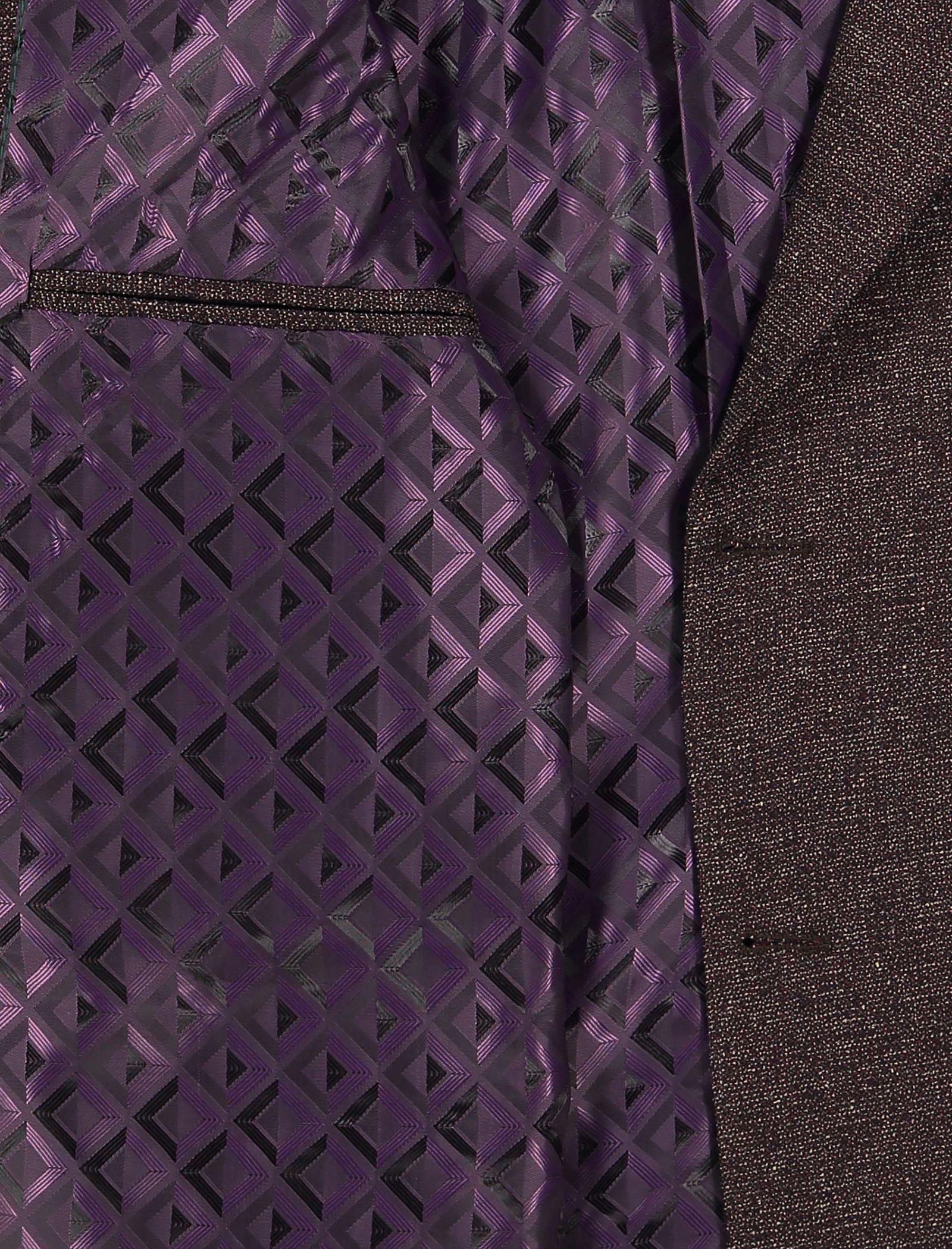 کت تک غیر رسمی مردانه - خانه مد راد - بنفش - 5
