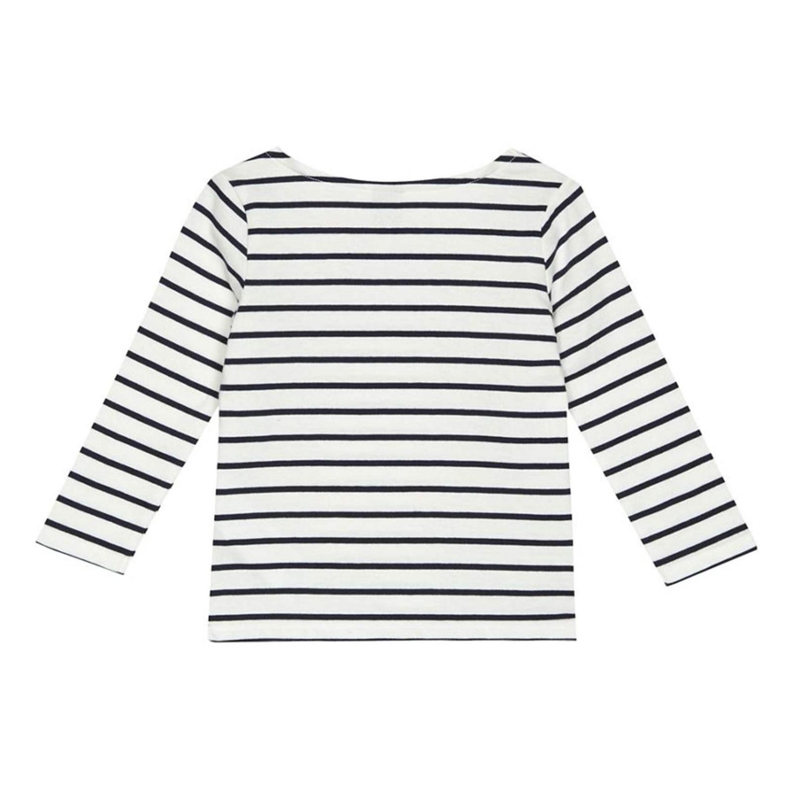 تی شرت نخی آستین بلند دخترانه - جی بای جسپرکنران - سفيد - 2
