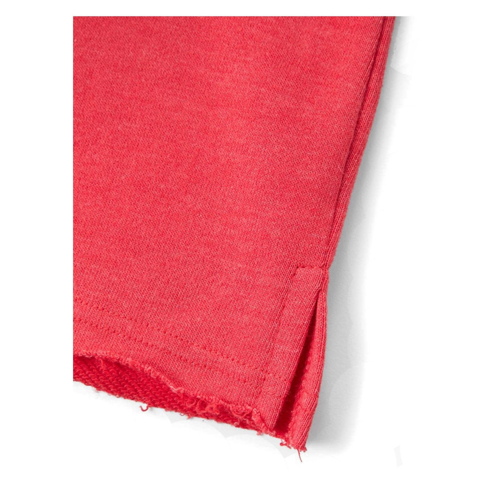 سویشرت نخی جلو بسته دخترانه - مانگو - قرمز - 4