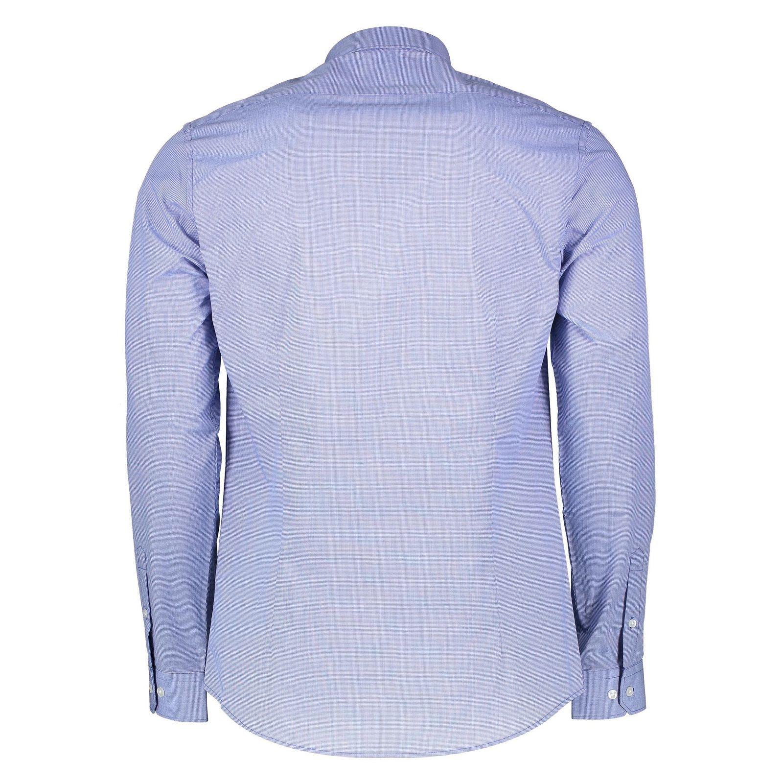 پیراهن آستین بلند مردانه - رد هرینگ - آبي - 2