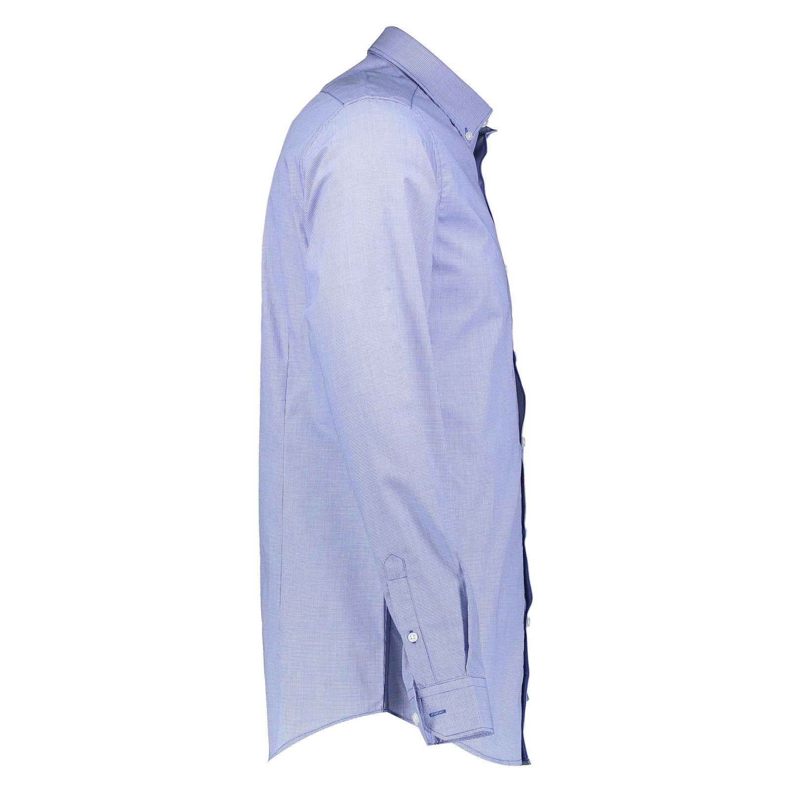پیراهن آستین بلند مردانه - رد هرینگ - آبي - 3