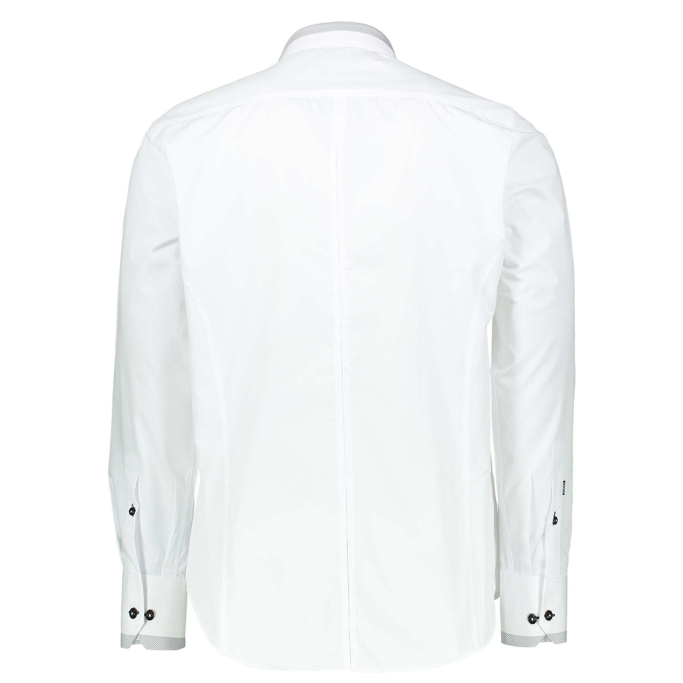 پیراهن رسمی مردانه - زاگرس پوش - سفيد - 2