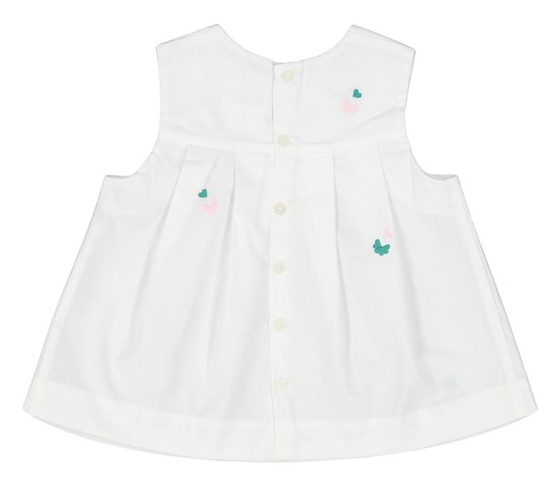 پیراهن نخی بدون آستین نوزادی دخترانه Lililabis - جاکادی