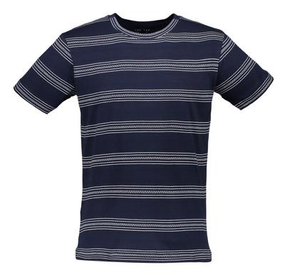 تصویر تی شرت نخی یقه گرد مردانه – مانگو