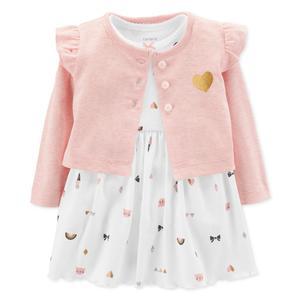 ست 2 تکه لباس نوزادی دخترانه کارترز مدل 855