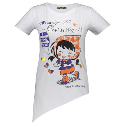 تصویر تی شرت زنانه مدل Jam 3121 W