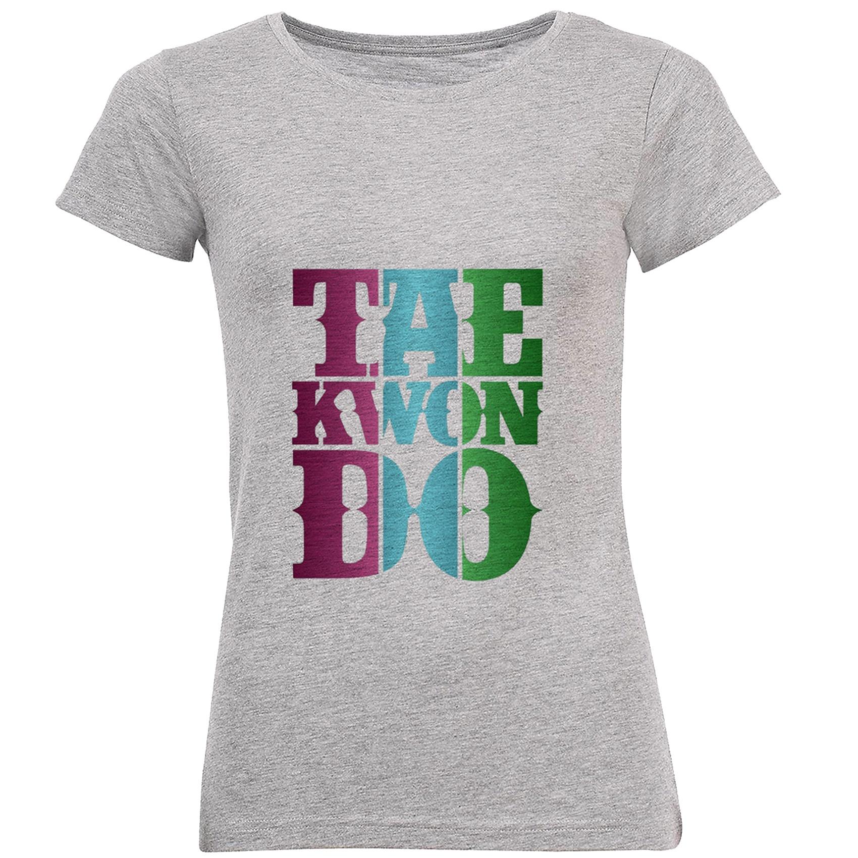 Photo of تی شرت زنانه طرح تکواندو کد C01