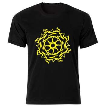 تی شرت زنانه طرح هیچ کد 197