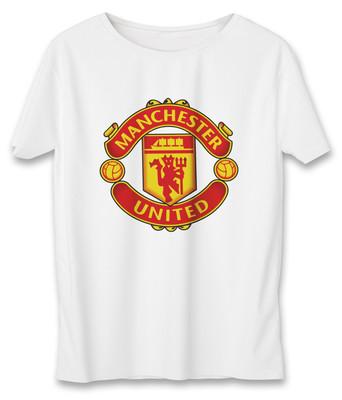 تی شرت زنانه به رسم طرح منچستریونایتد کد599