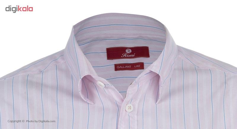 پیراهن مردانه رونی مدل 1122015215-84