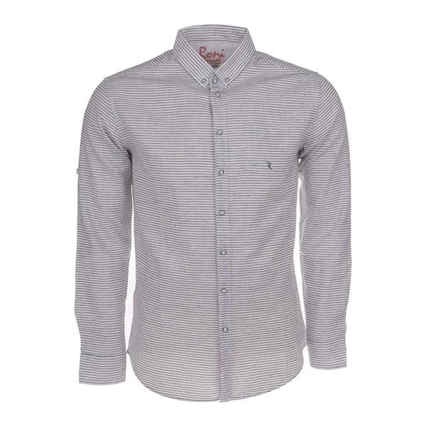 پیراهن مردانه رونی مدل 1122014100-01