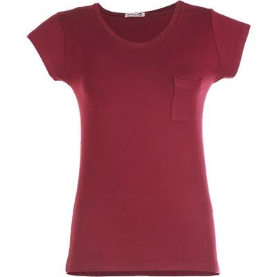 تی شرت زنانه افراتین کد 2529 رنگ قرمز