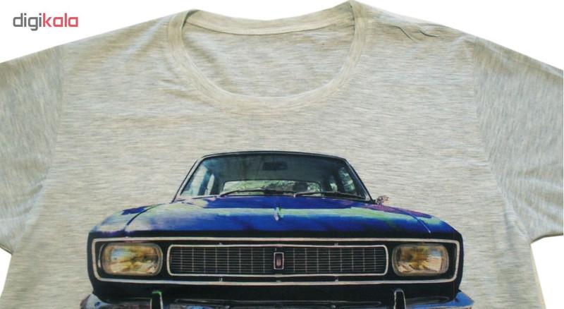 تی شرت مردانه هورشید طرح پیکان