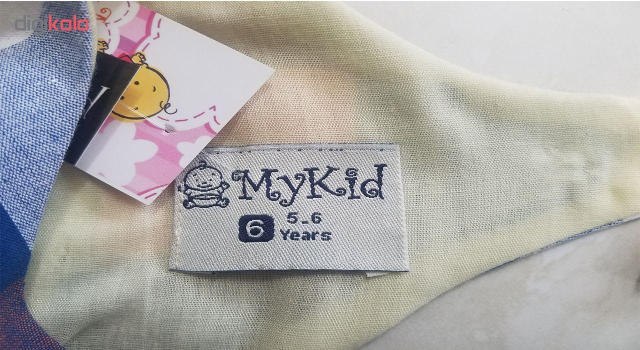 پیراهن دخترانه مای کید مدل 3-1479
