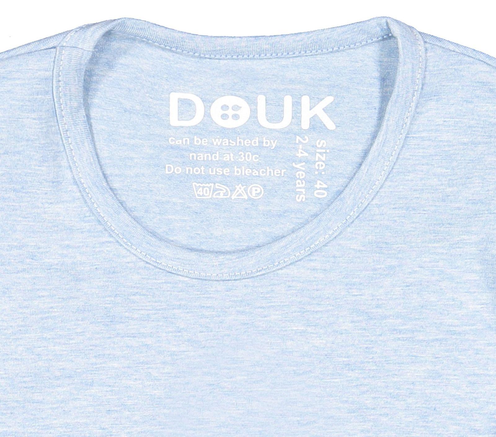 تی شرت نخی آستین بلند دخترانه - سون پون - آبي  - 3