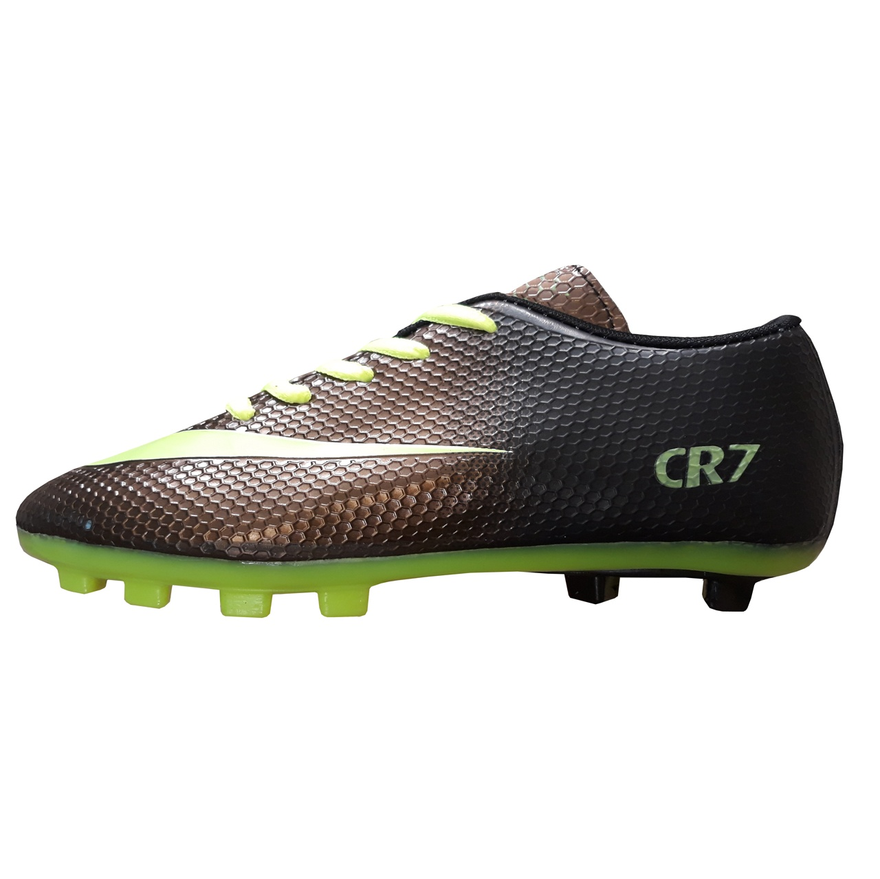 کفش فوتبال استوک دار پسرانه کد 010CR7                     غیر اصل