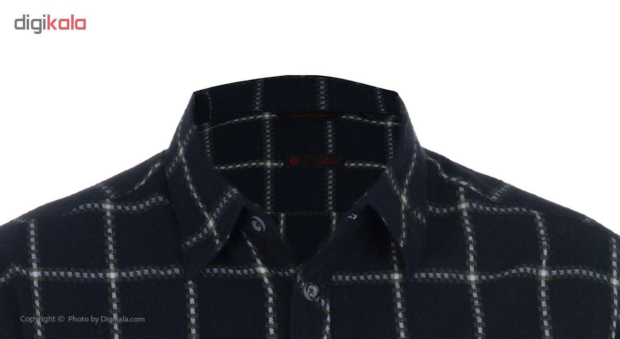 پیراهن مردانه رونی مدل 1133015519-59 -  - 4