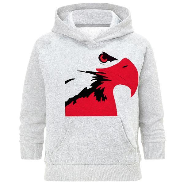 هودی مردانه طرح عقاب قرمز کد S242