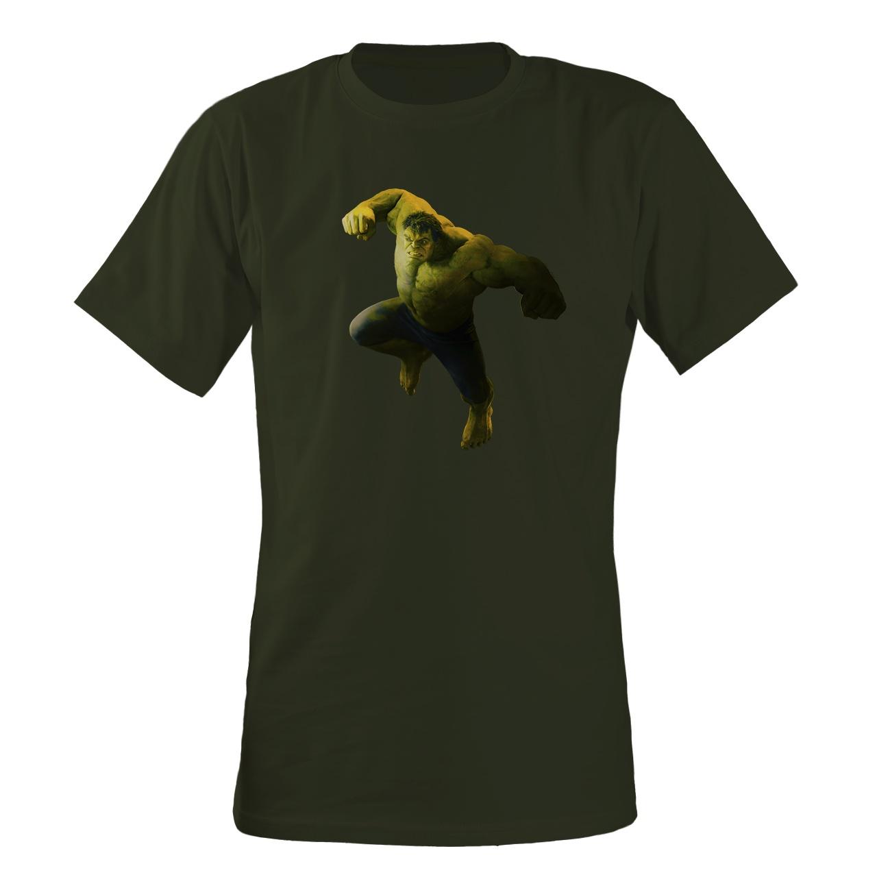 تی شرت مردانه مسترمانی طرح هالک مدل avengers کد 1106