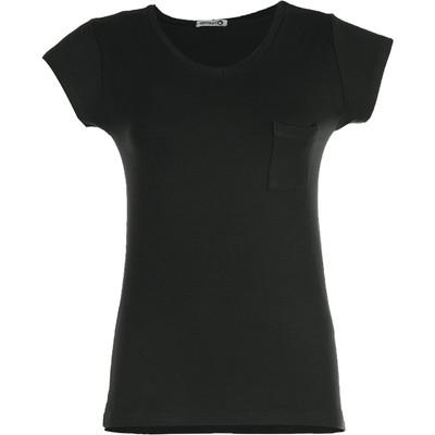 تی شرت زنانه افراتین کد 2529 رنگ مشکی