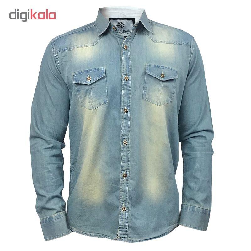 پیراهن مردانه روبرتو کاوالی مدل 502